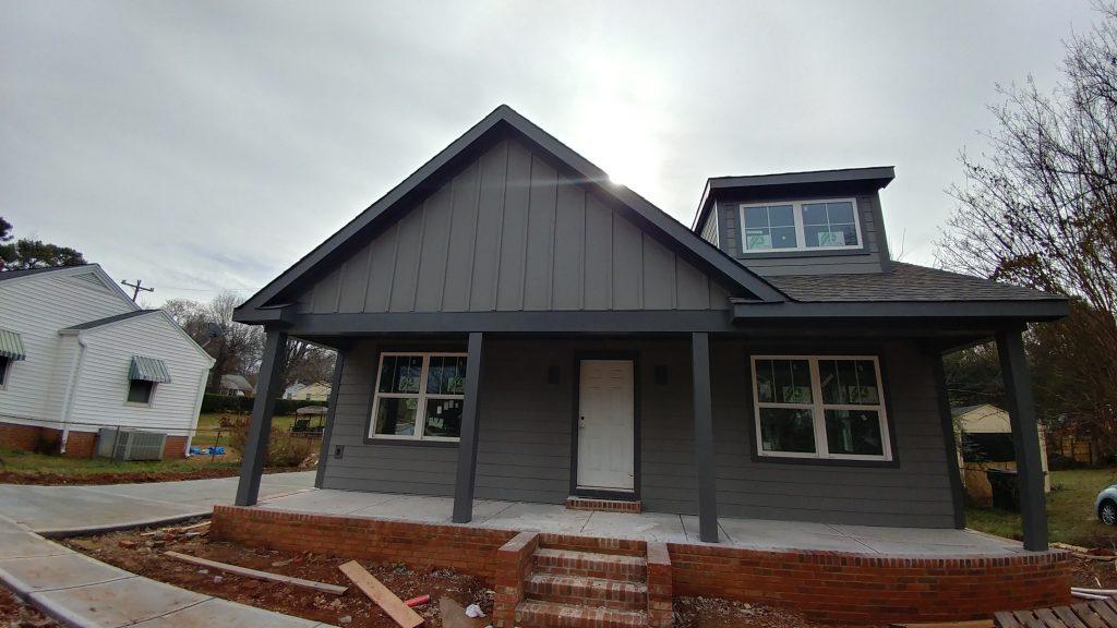 Leigh בניית בית חדש